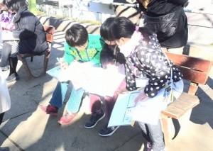 東根公園で